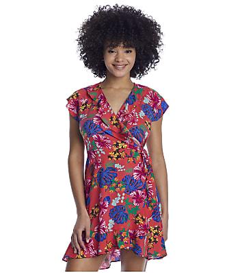 Pour Moi Heatwave Barbados Wrap Cover-Up Dress
