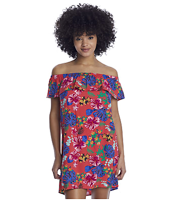 Pour Moi Heatwave Barbados Bardot Cover-Up