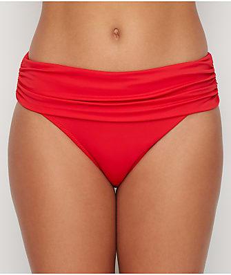 Pour Moi Santa Monica Solid Fold-Over Bikini Bottom