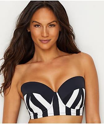 Pour Moi High Line Longline Bandeau Bikini Top