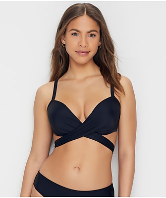 Pour Moi Space Wrap Push-Up Bikini Top