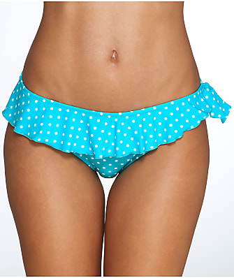 Pour Moi Hot Spots Frill Bikini Bottom