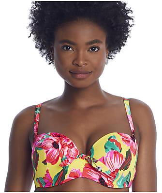 Pour Moi Heatwave Mimosa Bandeau Bikini Top