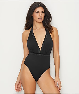 Pour Moi Jet Set Wire-Free Halter One-Piece