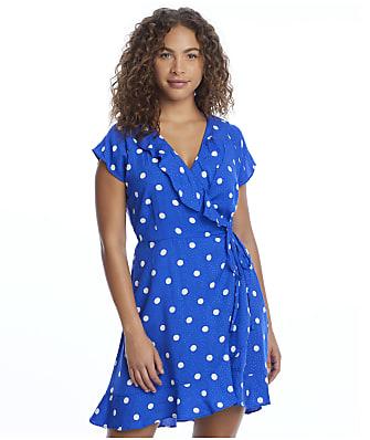 Pour Moi Hot Spots Wrap Cover-Up Dress
