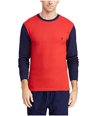 Polo Ralph Lauren Two-Tone Waffle Knit Lounge Shirt