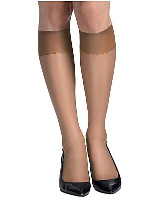 Hanes Silk Reflections Sheer Toe Knee Highs 6-Pack