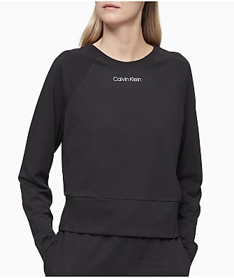 Calvin Klein Knit Crew Neck Lounge Sweatshirt