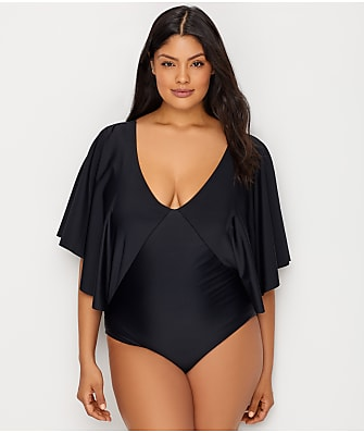 Raisins Curve Plus Size Samba Stingray One-Piece