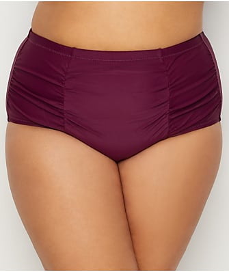 Raisins Curve Plus Size Sayulita Solids Costa Bikini Bottom