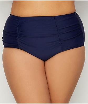 Raisins Curve Plus Size Barbados Solids Costa Bikini Bottom