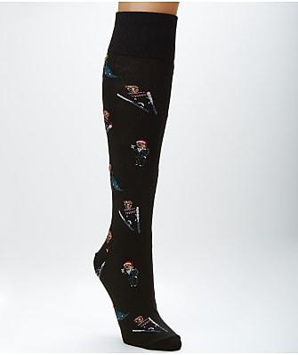 Ralph Lauren Bear Knee Socks