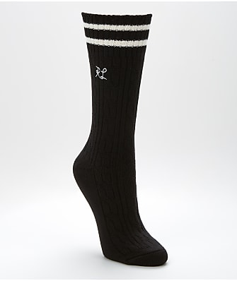 Ralph Lauren Cable Knit Boot Socks