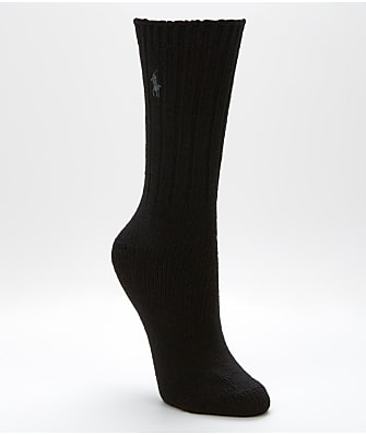 Ralph Lauren Wool Ribbed Boot Socks