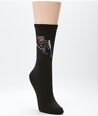 Ralph Lauren Ski Bear Trouser Socks