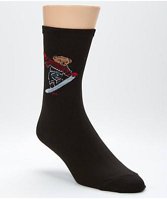 Ralph Lauren Snowboard Bear Trouser Socks