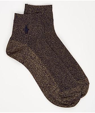 Ralph Lauren Lurex Anklet Sock