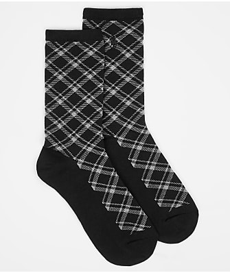Ralph Lauren Holiday Plaid Trouser Socks