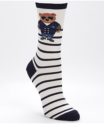 Ralph Lauren Commodore Bear Trouser Socks
