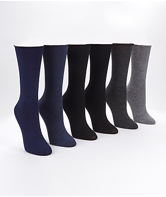 Ralph Lauren Roll-Top Trouser Socks 6-Pack