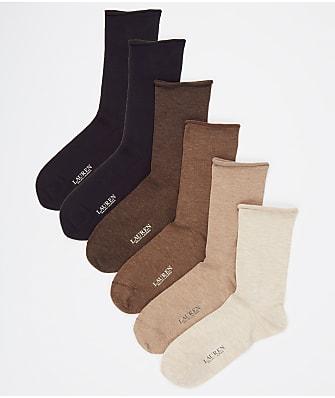Ralph Lauren Roll-Top Trouser Socks 6-Pack