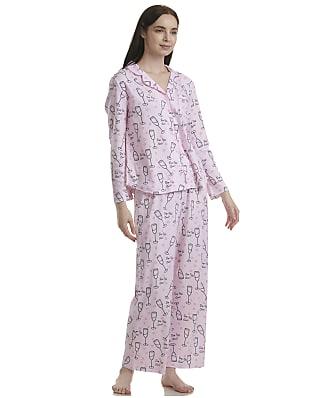 Karen Neuburger Plus Size Pop Fizz Knit Pajama Set