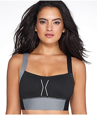 Reebok High Impact Wire-Free Compression Sports Bra