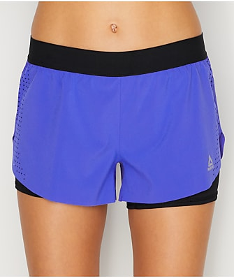 Reebok 2-in-1 Perforated Shorts