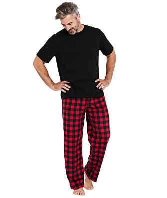 Karen Neuburger Men's Plaid Fleece Pajama Set