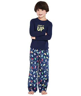 Karen Neuburger Kis Unisex Bright Lights Fleece Pajama Set