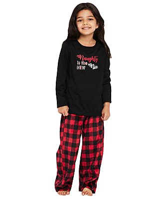 Karen Neuburger Kids Unisex Plaid Fleece Pajama Set