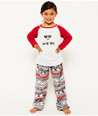 Karen Neuburger Kids Unisex Winter Fleece Pajama Set