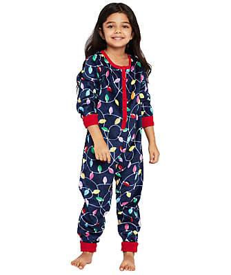 Karen Neuburger Kids Unisex Bright Lights Fleece Onesie