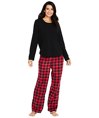 Karen Neuburger Plaid Fleece Pajama Set