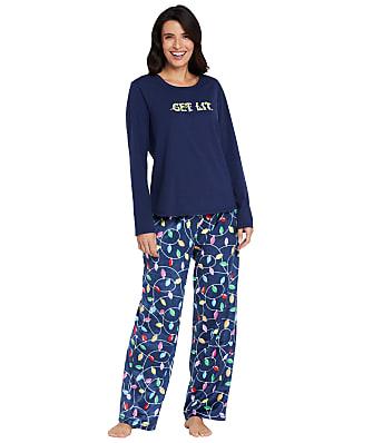 Karen Neuburger Bright Lights Fleece Pajama Set