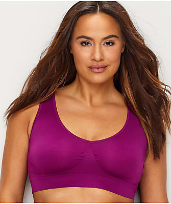 Rhonda Shear Ahh Seamless Leisure Bralette Plus Size
