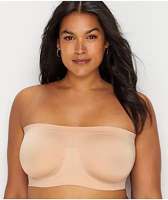 Rhonda Shear Plus Size Ahh Angel Seamless Bandeau Bra