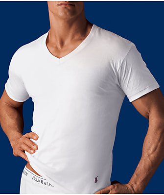 Polo Ralph Lauren Big and Tall V-Neck T-Shirt 2-Pack