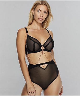 Curvy Kate Unchained Sheer Plunge Bra