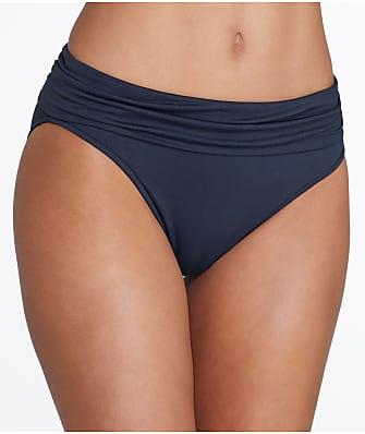 Seafolly Solid Fold-Over Bikini Bottom