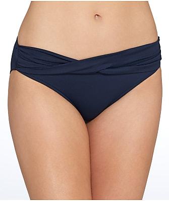Seafolly Seafolly Solid Twist Hipster Bikini Bottom
