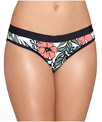 Skye Blossom Banded Bikini Bottom