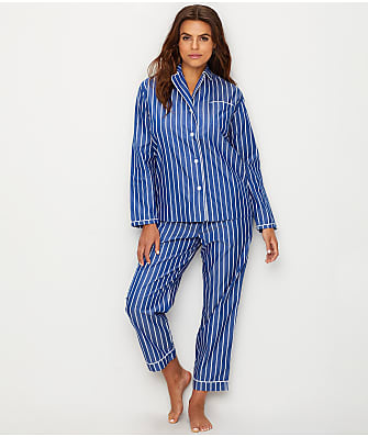 Sleepy Jones Bishop Stripe Woven Cotton Pajama Set