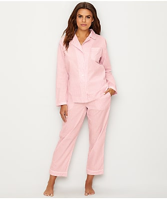 Sleepy Jones Bishop Gingham Woven Cotton Pajama Set