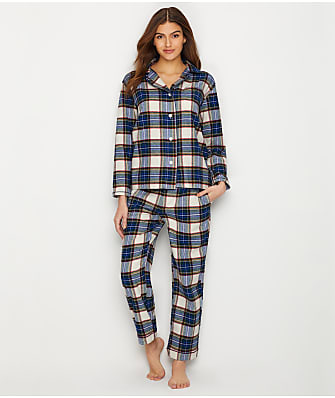 Sleepy Jones Bishop Flannel Pajama Set