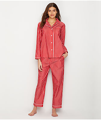 Sleepy Jones Bishop Tie Stripe Woven Pajama Set