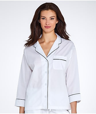 Sleepy Jones Marina Woven Pajama Shirt