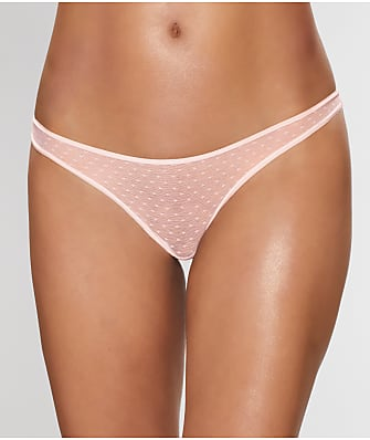 Sleepy Jones Mariko Swiss Dot Thong