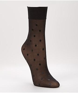 SPANX Flocked Dot Half-Calf Socks