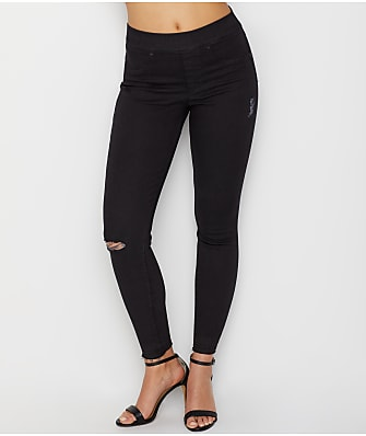 SPANX Distressed Denim Leggings